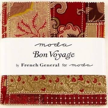 Bon Voyage Charm Pack Moda Fabric's