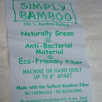 Simply Bamboo Wadding