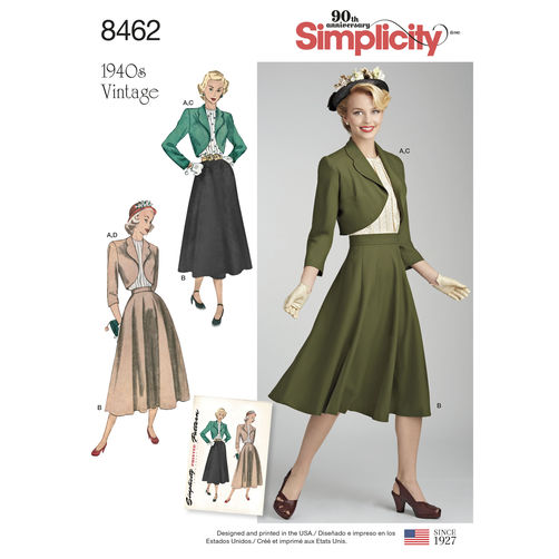 Simplicity 8462 Sewing Pattern