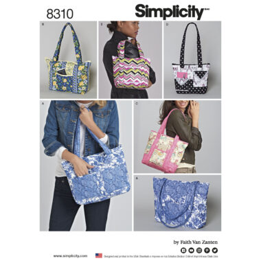 Simplicity 8310 Sewing Pattern