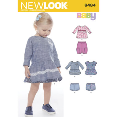 New Look 6484 Sewing Pattern