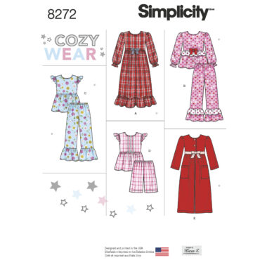 Simplicity 8272 Sewing Pattern
