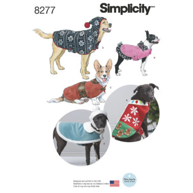 Simplicity 8277 Sewing Pattern