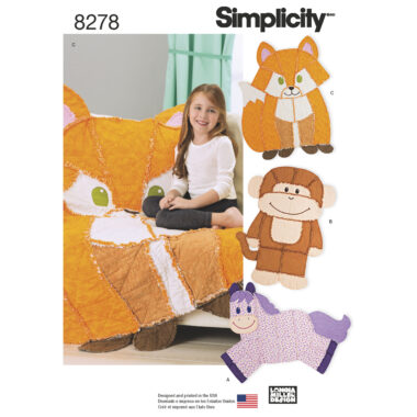 Simplicity 8278 Sewing Pattern