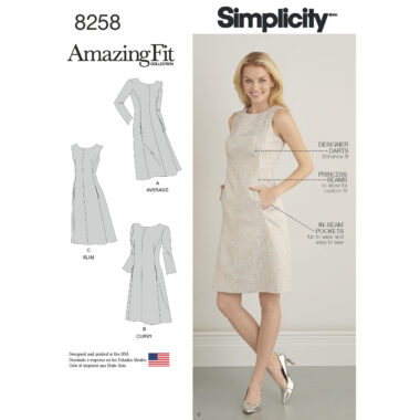 Simplicity 8258 Sewing Pattern