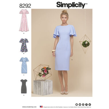 Simplicity 8292 Sewing Pattern