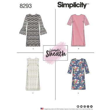 Simplicity 8293 Sewing Pattern