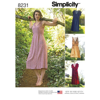 Simplicity 8231 Sewing Pattern