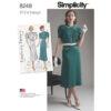 Simplicity 8248 Vintage Sewing Pattern