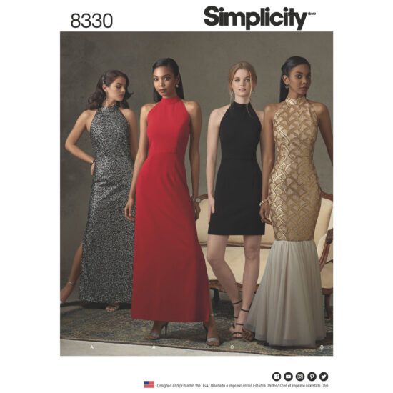 Simplicity 8330 Sewing Pattern