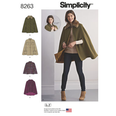 Simplicity 8263 Sewing Pattern