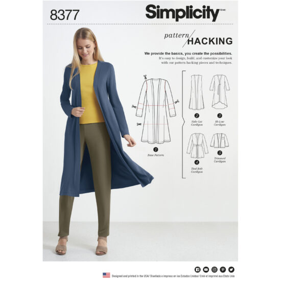 Simplicity 8377 Sewing Pattern
