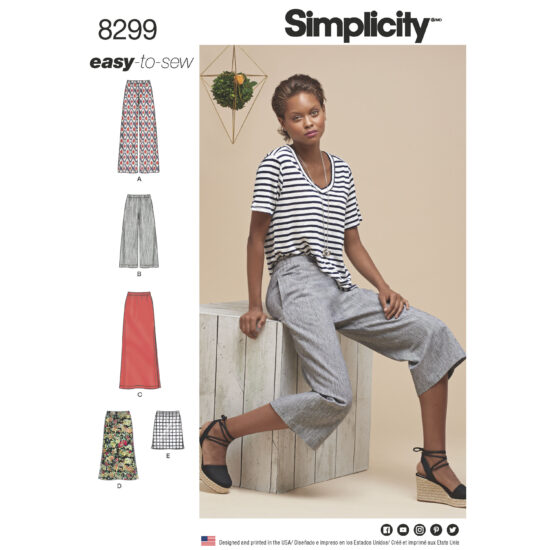 Simplicity 8299 Sewing Pattern