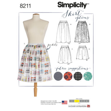 Simplicity 8211 Sewing Pattern