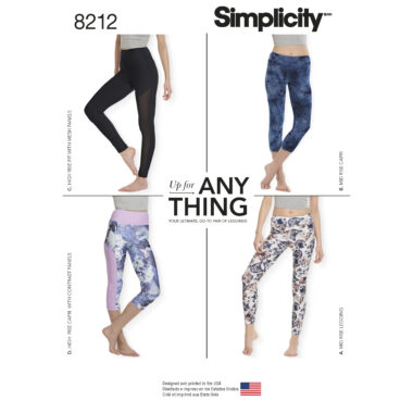 Simplicity 8212 Sewing Pattern
