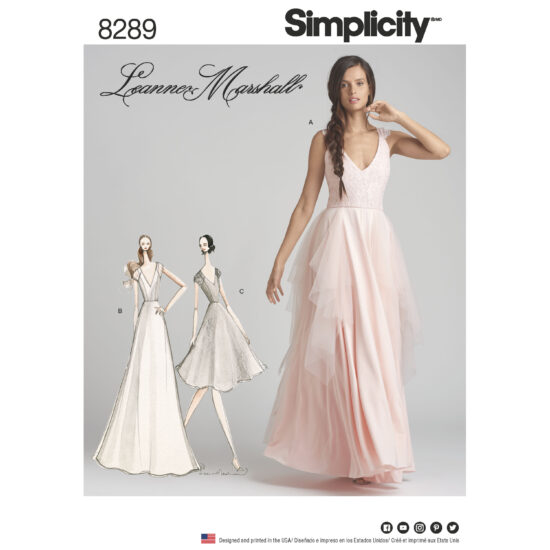 Simplicity 8289 Sewing Pattern