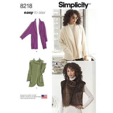 Simplicity 8218 Sewing Pattern