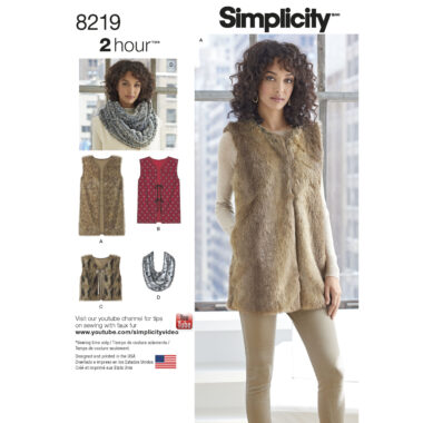 Simplicity 8219 Sewing Pattern