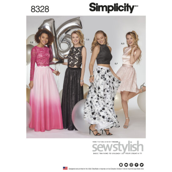Simplicity 8328 Sewing Pattern