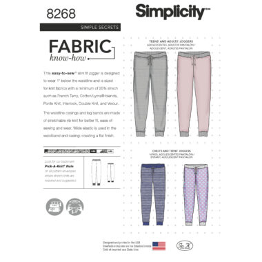 Simplicity 8268 Sewing Pattern