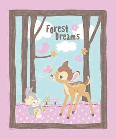 Bambi Woodland Dream Panel