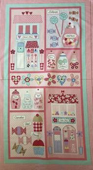 Sweet Shoppe Benartex Panel