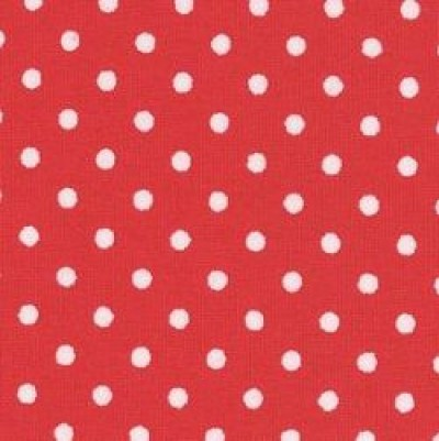 Tiny Dot Spot Cotton Poplin Rose and Hubble Fabric
