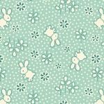 Bunny Toss Henry Glass Fabric