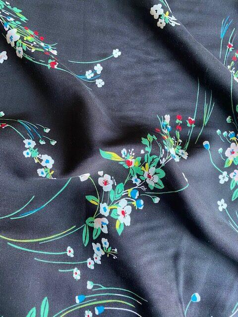 Summer Fields viscose dress fabric