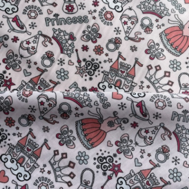Princess Poly Cotton Fabric