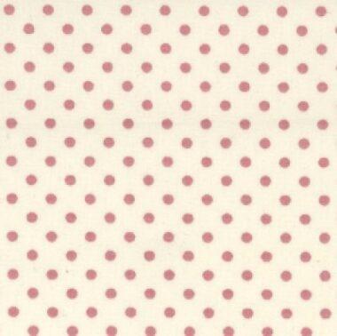 Ivory Background Tiny Dot Cotton Poplin Collection
