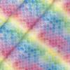 Mermaid Glitter Tropical PU Backed Fabric