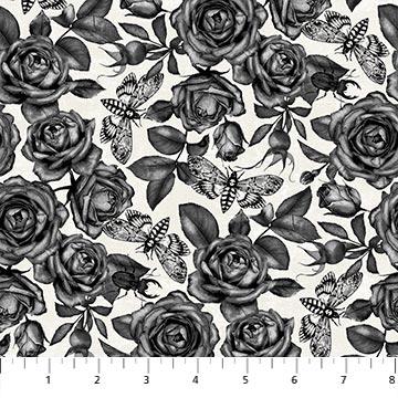 Wicked Fabric Roses Nina Djuric