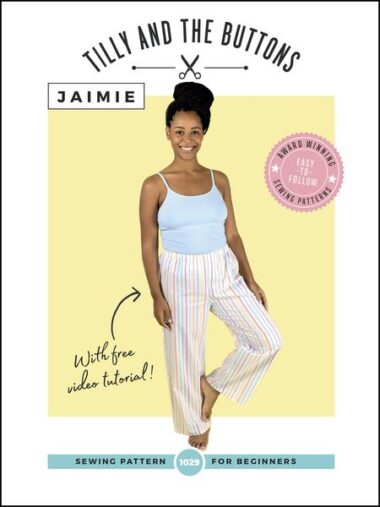 Jaimie Tilly And The Buttons Pyjama Sewing Pattern