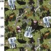Safari Rose and Hubble Cotton Fabric