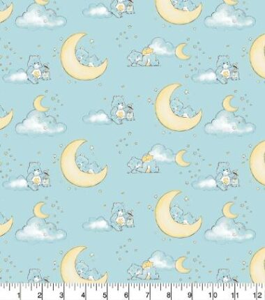 Bedtime Bears Care Bears Cotton Fabric