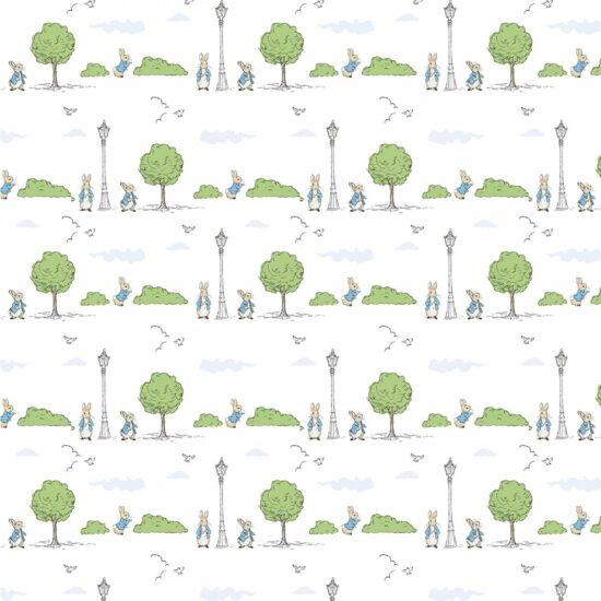 Peter Rabbit London Park Craft Cotton Fabric