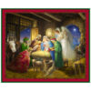 Born Is The King Panel Cotton Fabric