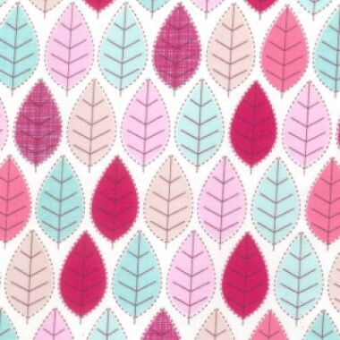 Seasons Rose and Hubble Cotton Fabric