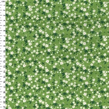 Thea Floral Rose And Hubble Cotton Fabric