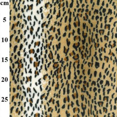 Leopard Supersoft Print Fleece Fabric