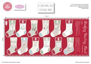 A Christmas Tale Stocking Panel Debbie Shore