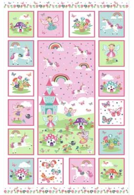 Daydream Panel Makower Cotton Fabric