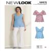 New Look N6673 Misses' Tops Sewing Pattern