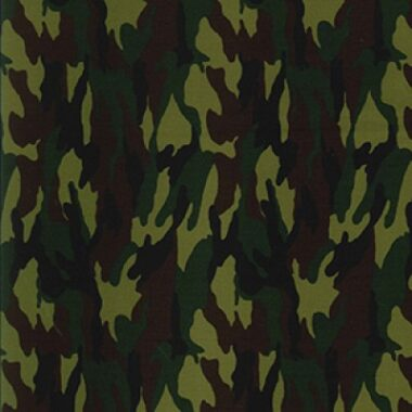 Camouflage Rose and Hubble Cotton Fabric