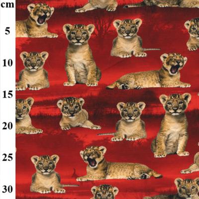 Lion Cub Cotton Elastane John Louden Jersey Fabric