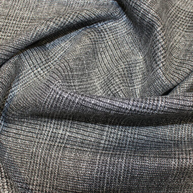 Prince of Wales Lurex Suiting Fabric