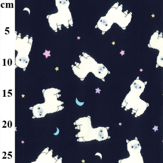Llama Llama Rose and Hubble Cotton Fabric