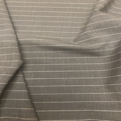 Charcoal Stripe Fabric Jigsaw