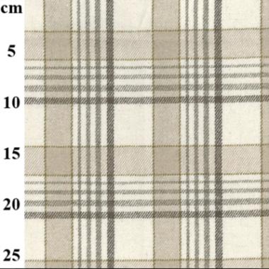 John Louden Wool Mix Check Fabric  JLW17